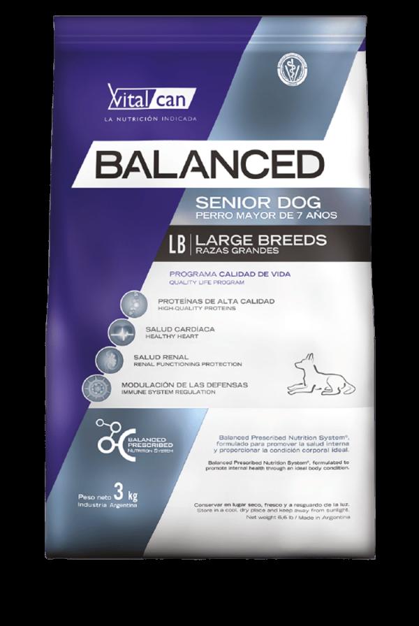 Balanced - Envase Perro Senior -Raza grande