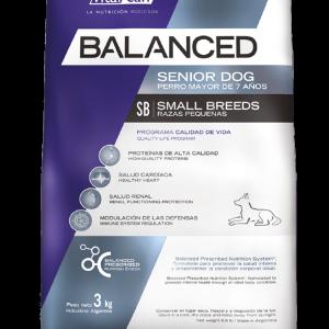 Balanced perro senior raza pequeño