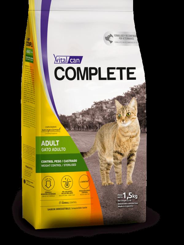 Complete gato control peso