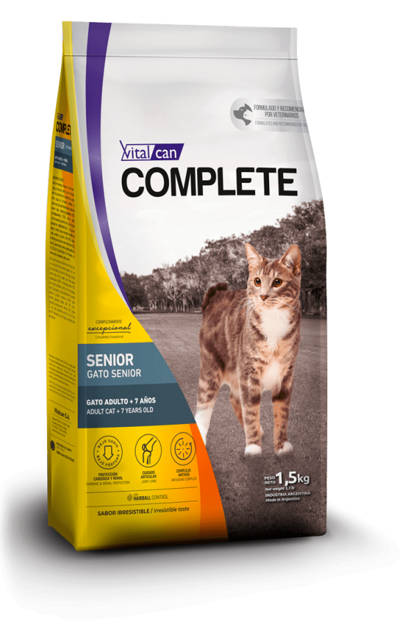 Complete gato senior