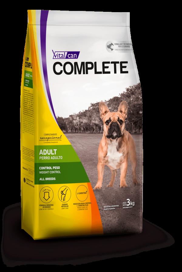 Complete perro adulto control peso