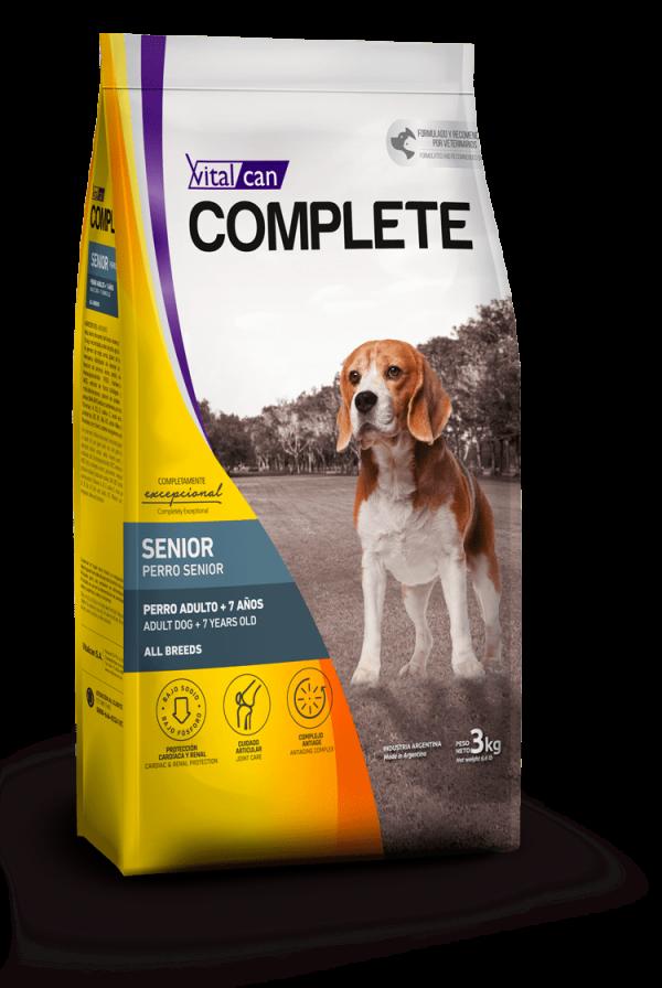 Complete perro senior
