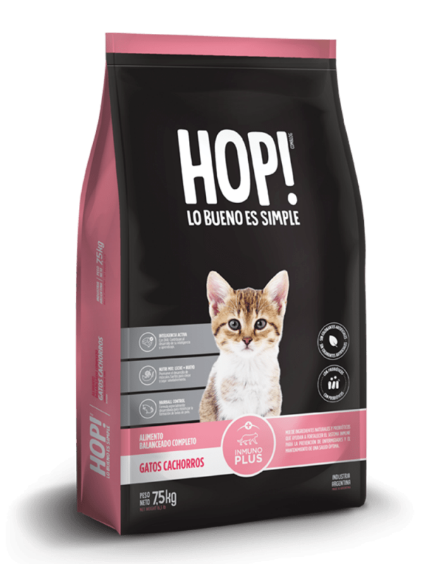 Hop! Gato cachorro