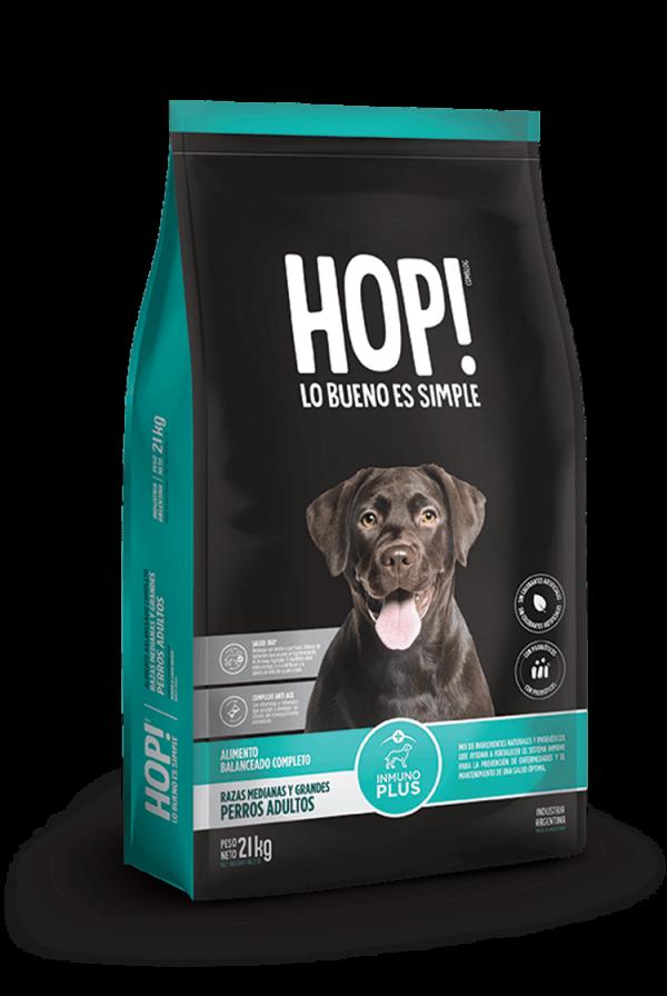 Hop! Perro adulto raza grande