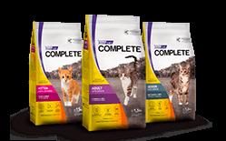 Envase marca Complete gato