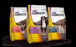 Envase marca Complete perro