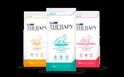Envase marca Therapy gato
