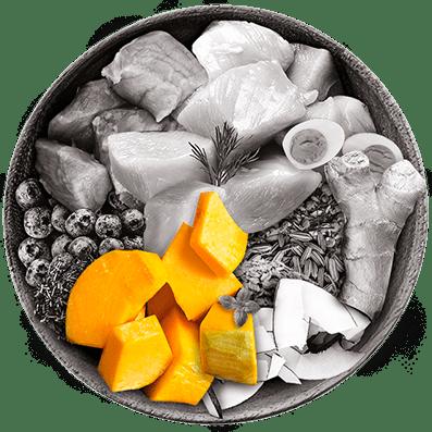 Nutrique bowl ingredientes zapallo