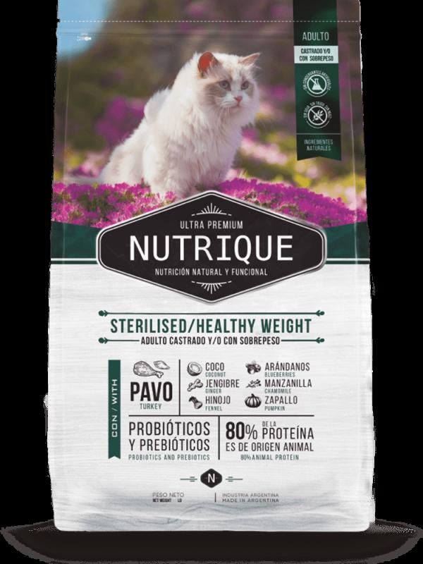 Nutrique Gato - Envase - Sterilised/Healthy Weight