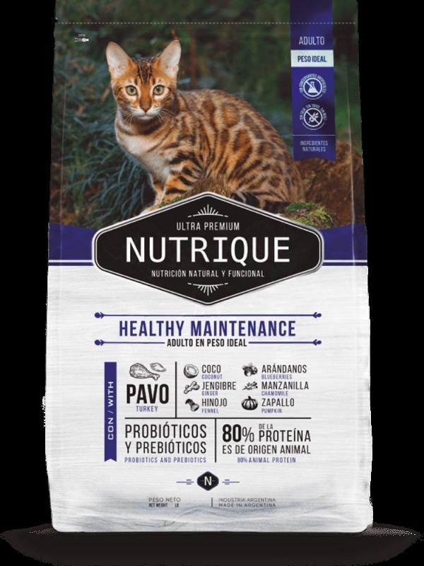 Nutrique Gato - Envase - Healthy Maintenance