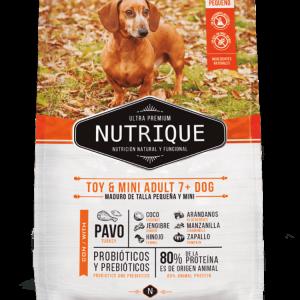 Nutrique Perro - Envase - Toy & Mini Adult +7 Dog