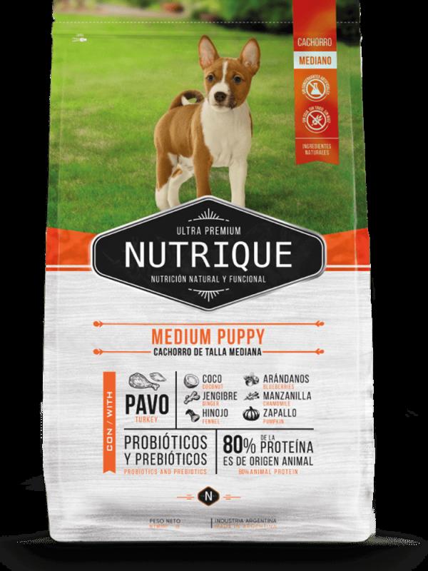 Nutrique Perro - Envase - Puppy Medium