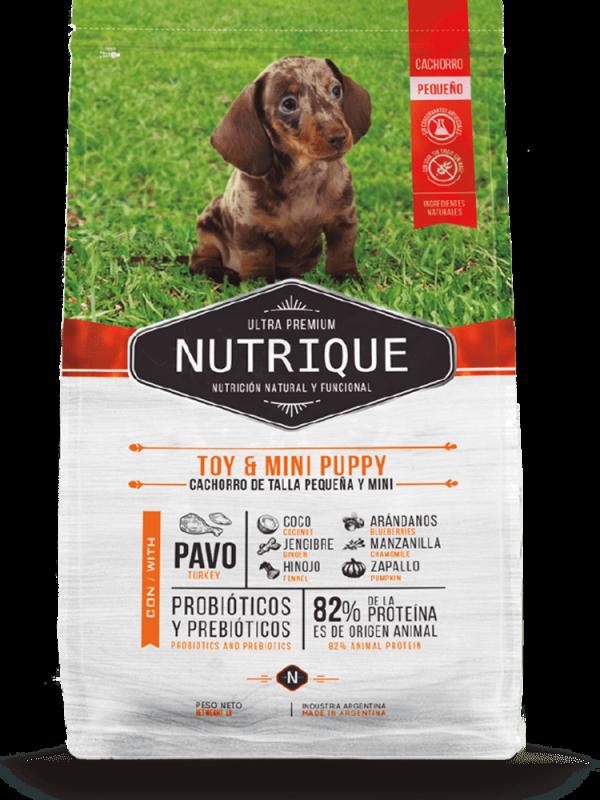 Nutrique Perro - Envase - Toy & Mini Puppy