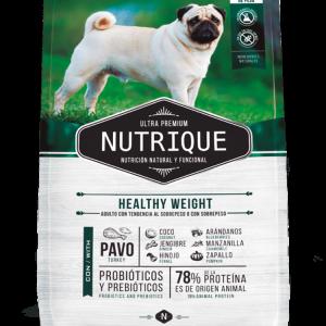 Nutrique Perro - Envase - Healthy Weight