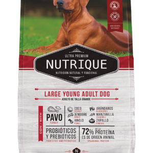 Nutrique Perro - Envase - Large Young Adult Dog