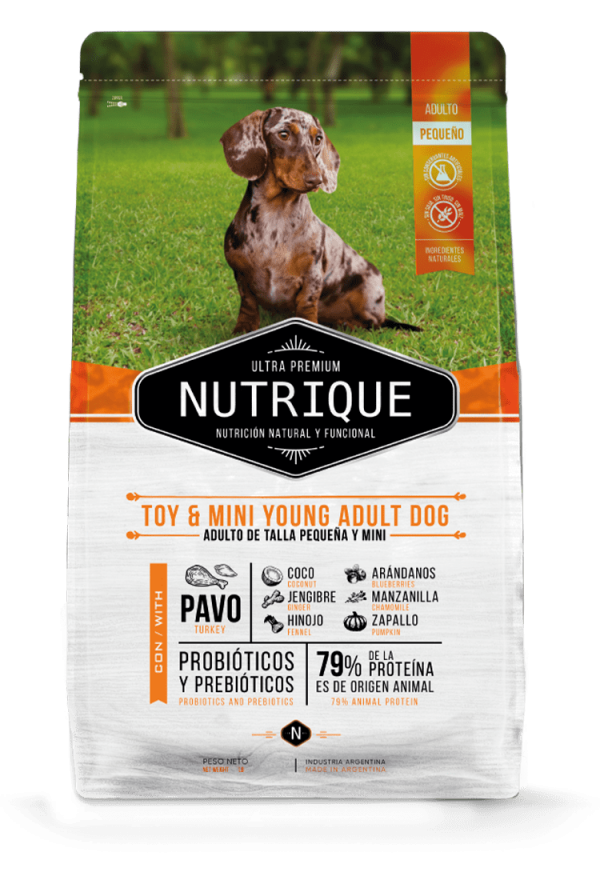 Nutrique Perro - Envase - Toy & Mini Young Adult dog